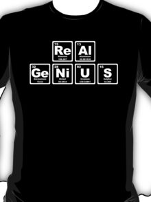 Real Genius - Periodic Table T-Shirt