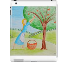 Apple harvest iPad Case/Skin