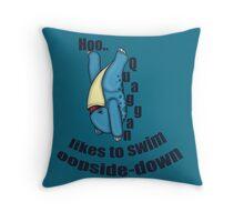 Adorable Quaggan Throw Pillow