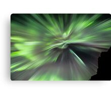 Northern Lights Corona Canvas Print