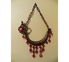 Red Crystal Ship - Wall Jewellery Photographic Print