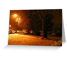 """A Snowy Evening in Knoxville"" (no.4, from this series)... products  Greeting Card"