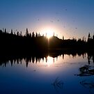 Sunrise Over Mirror Lake.  by Alex Preiss