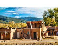 Taos Pueblo Study 8 Photographic Print