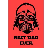 Best Dad Ever Photographic Print