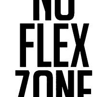 No Flex Zone Black by 40mill