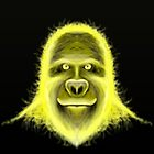Wacky Yellow Energy Gorilla by ruidaniel