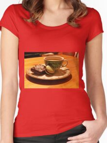 Coffe is... Women's Fitted Scoop T-Shirt