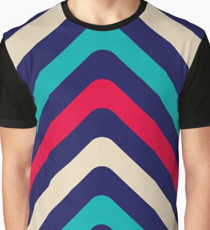 Crazy lines, abstract geometric pattern, 01 Graphic T-Shirt