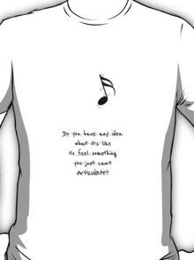 Darren Criss - Words T-Shirt