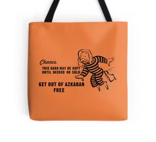 Get Out of Azkaban Free Card Tote Bag