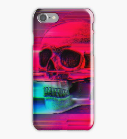 Mortality Glitch iPhone Case/Skin