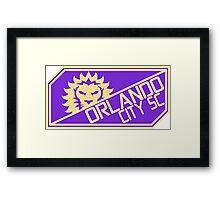 Orlando City Framed Print