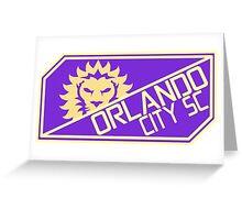 Orlando City Greeting Card