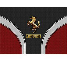 Ferrari Lover [NEW ~ Gold] Photographic Print