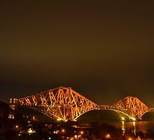 Forth Rail Bridge from North Queensferry by Pete Johnston