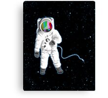 Space Visual Odyssey Canvas Print