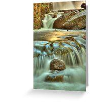 Nigothoruk Creek, Alpine NP Greeting Card