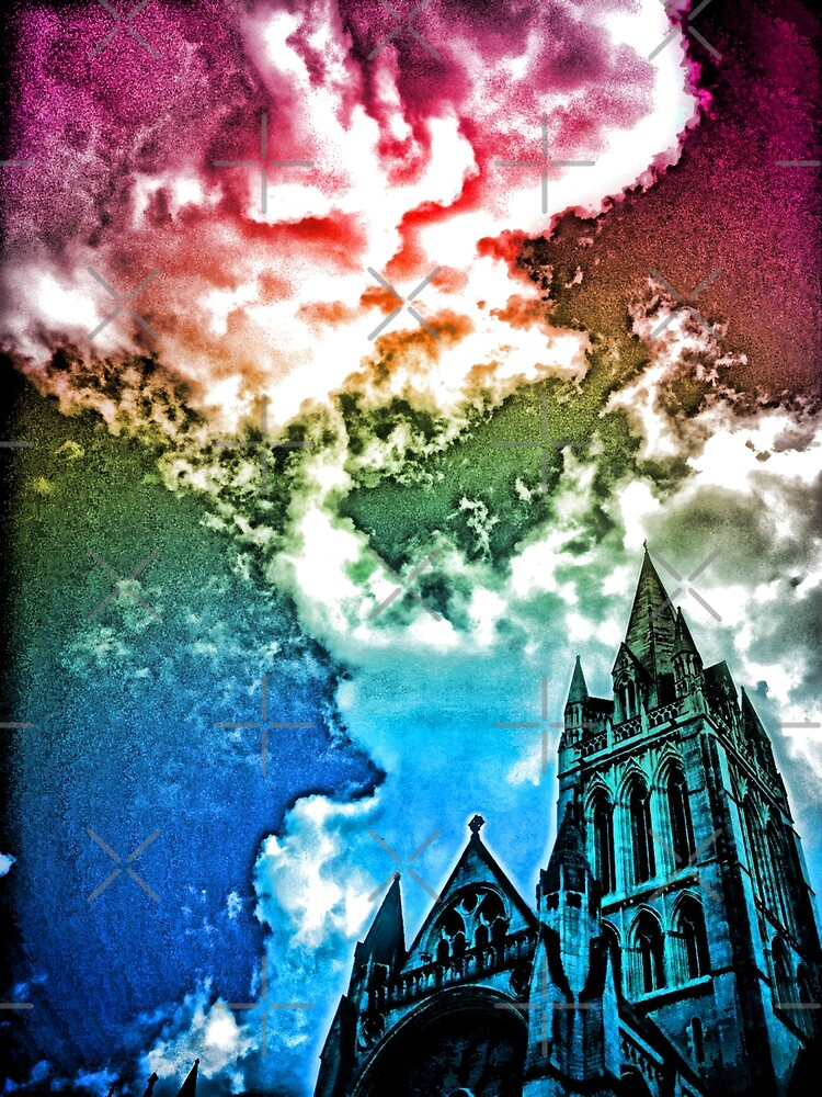Rainbow Truro cathedral by Asrais