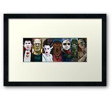 Monster Squad Framed Print