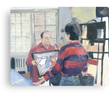 Seinfeld Painted Canvas Print