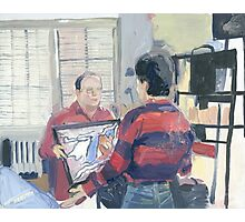 Seinfeld Painted Photographic Print
