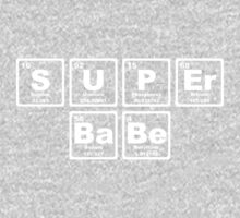 Super Babe - Periodic Table Kids Clothes