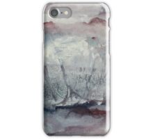 Quiet Moon (January) iPhone Case/Skin