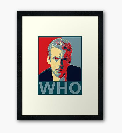 Who? Framed Print