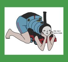Why Was I Born A Train? One Piece - Short Sleeve