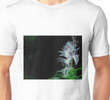 White wood flower Unisex T-Shirt