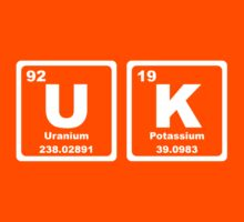 UK - Periodic Table Kids Clothes
