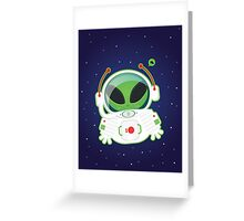 Alien Greeting Card