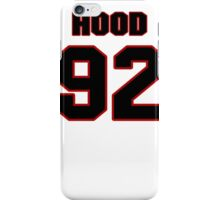 NFL Player Ziggy Hood ninetytwo 92 iPhone Case/Skin