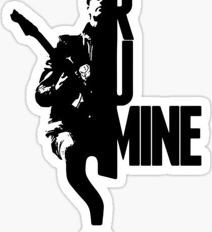 ARCTIC MONKEYS -  R U MINE Sticker
