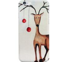 Cherry Reindeer iPhone Case/Skin