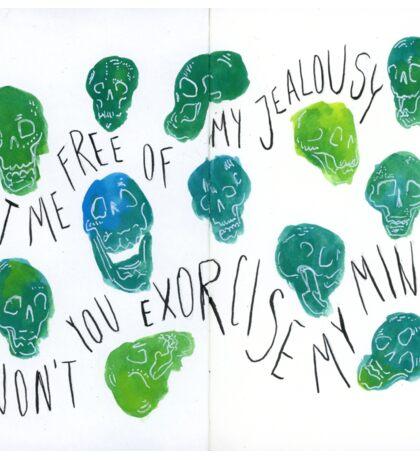Bastille Skulls Sticker