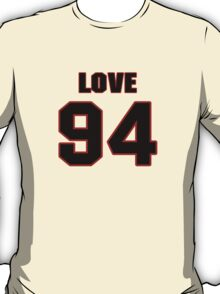 NFL Player Kyle Love ninetyfour 94 T-Shirt