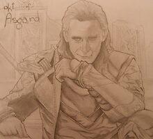 Loki of Asgard by ArtShenanigains