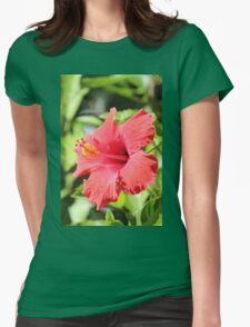 Hibiscus of Leesburg Womens Fitted T-Shirt