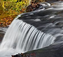 Clinton Falls Flow by Kenneth Keifer