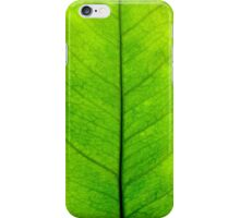 Lemon leaf iPhone Case/Skin