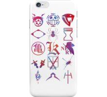 Anime Logos 2 iPhone Case/Skin