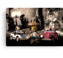 About time - Des jouets Vintage Canvas Print