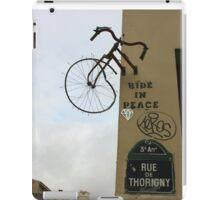 Bikes & Graffiti iPad Case/Skin