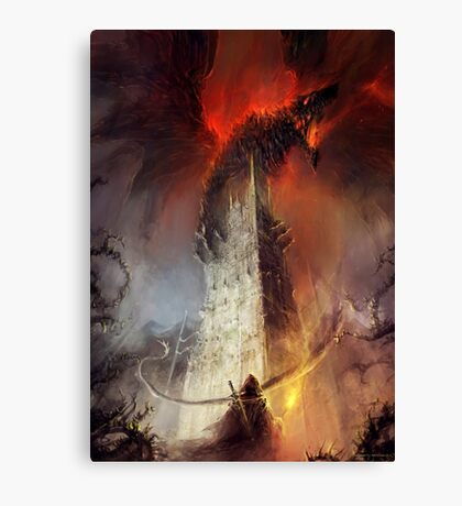 Re-imagined Shadowgate Canvas Print
