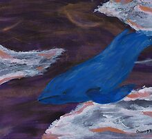French Quarter Whale by CassTebeau
