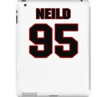 NFL Player Chris Neild ninetyfive 95 iPad Case/Skin