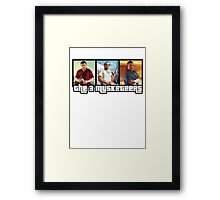 The 3 Musketeers Framed Print