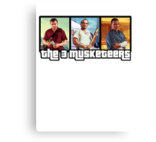 The 3 Musketeers Canvas Print